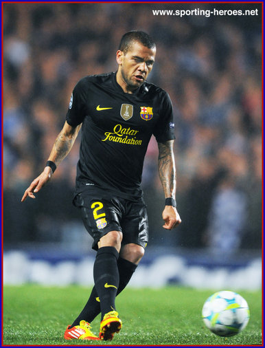 Daniel Alves - Barcelona - UEFA Champions League 2011/12.