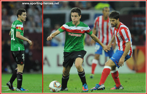 Ander HERRERA - Athletic Club (Bilbao) - 2012 Europa Cup Final (Bucharest)