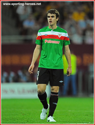 Jon AURTENETXE - Athletic Club (Bilbao) - 2012 Europa Cup Final (Bucharest)