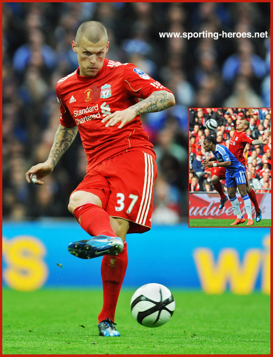 skrtel martin 2012 two cup finals at wembley liverpool fc sporting heroes net