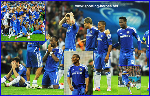 Florent Malouda - Chelsea FC - 2012 Champions League Final (winner).