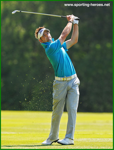 Jbe KRUGER - South Africa - Winner of Avantha Masters New Delhi 2012.