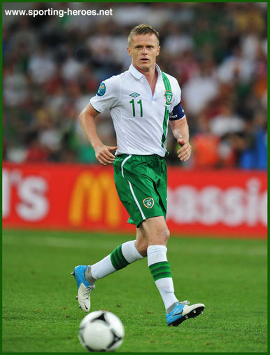 Damien Duff - Ireland (Republic) - 2012 European Football Championships - Poland/Ukraine.