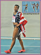 Carmelita JETER - U.S.A. - World 100m Champion in 2011. Silver in 200 metres.