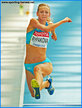 Olga RYPAKOVA - Kazakhstan - 2011 World Championships second in triple jump.