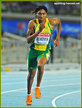 Caster SEMENYA - South Africa - Silver medal at 2011 World Championships.