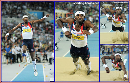 Phillips Idowu - Great Britain - 2011 World Champion triple jump silver medal.