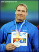 Gerd KANTER - Estonia - 2nd. in the men's discus at 2111 World Championships.