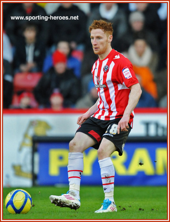 Stephen Quinn Stephen QUINN League Appearances Sheffield United FC