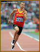 Kevin BORLEE - Belgium - 5th. 2012 Olympic 400m final