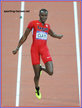 Will CLAYE - U.S.A. - The first of his two medals at 2012 Olympic Games.