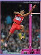 Erik KYNARD - U.S.A. - Silver medal at 2012 Olympic Games.