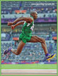Tosin OKE - Nigeria - Seventh at 2012 Olympic Games.