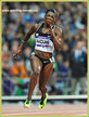 Murielle AHOURE - Ivory Coast - Finalist in 100 & 200m at 2012 Olympic Games.