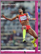 Chaunte HOWARD-LOWE - U.S.A. - 2012 Olympics sixth in the high jump.