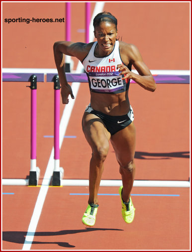 Phylicia GEORGE - Canada - Sixth place at 2012 Olympic Games.