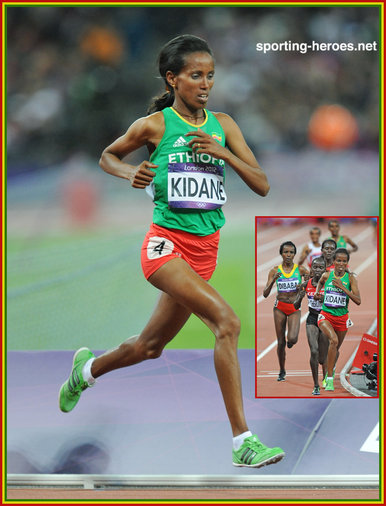 Werknesh Kidane - Ethiopia - 2012 Olympic Games 4th place in 10,000m.