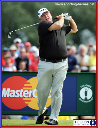 Mark Calcavecchia - U.S.A. - Ninth position at 2012 Open Championship.