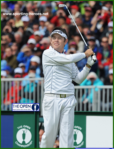 Louis Oosthuizen - South Africa - Top twenty finish at 2012 Open.