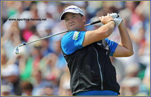 Peter Hanson - Sweden - Third place at the 2012 Masters plus two European Tour Victories.