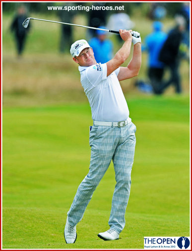 Jamie DONALDSON - Seventh place at 2012 US PGA Championship.