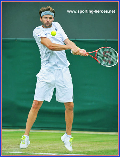 Mardy Fish - U.S.A. - Last sixteen at Wimbledon 2012.