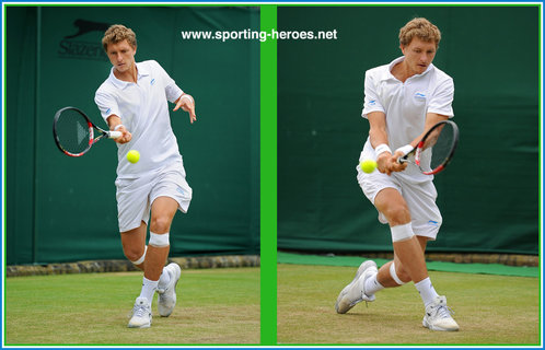 Denis ISTOMIN - Last sixteen at Wimbledon 2012.