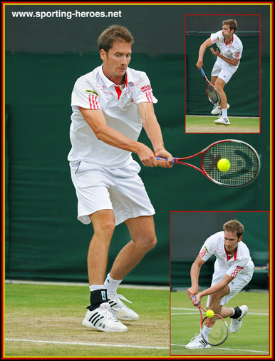 Florian Mayer - Germany - Quarter finalist for the second time at a Grand Slam event.