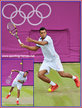 Jo-Wilfried TSONGA - France - Wimbledon semi-final and Olympic silver medal in 2012