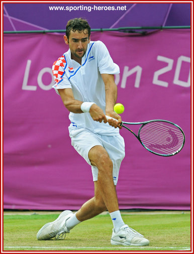 Marin Cilic - Quarter finalist at 2012 US Open.