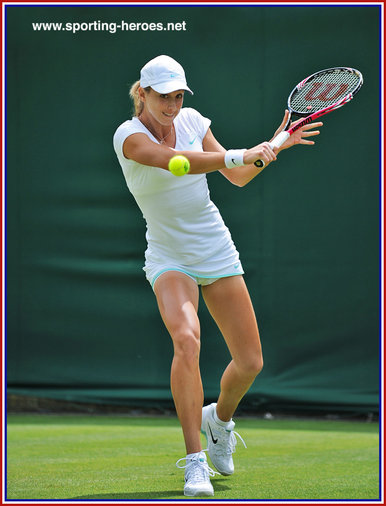 Petra MARTIC - Croatia  - Last sixteen at 2012 French Open.