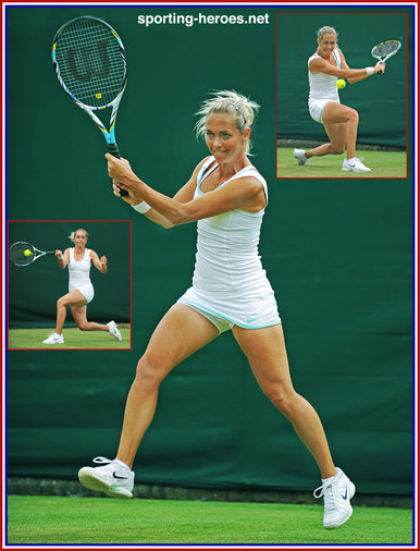 Klara Zakopalova - Last sixteen at 2012 French Open.
