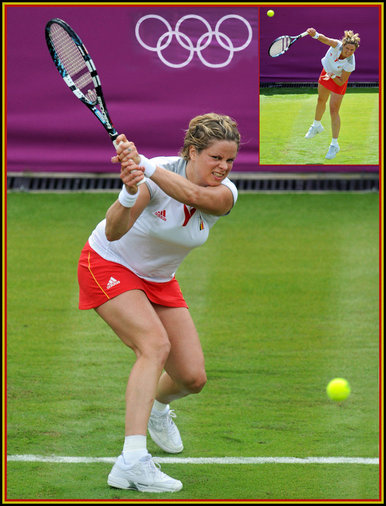 Kim Clijsters - Belgium - Semi finalist at Australian Open 2012.