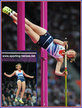 Holly BRADSHAW - Great Britain & N.I. - Equal sixth at 2012  Olympic Games.