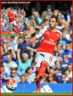 Santiago CAZORLA - Arsenal FC - Premiership Appearances