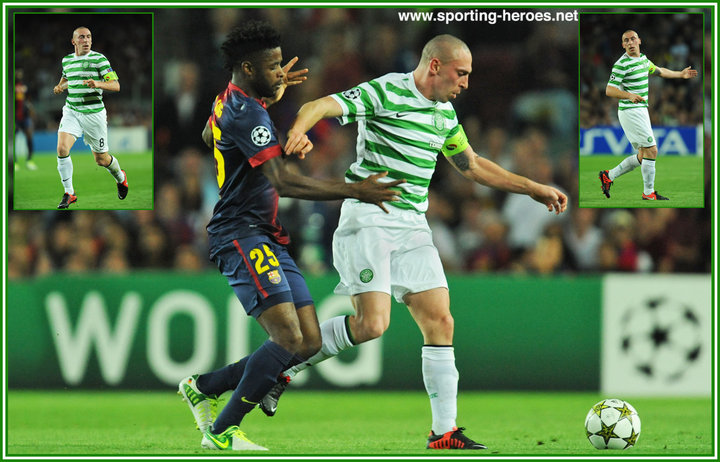 Scott BROWN Champions League 2012 2013 Celtic FC
