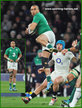 Simon ZEBO - Ireland (Rugby) - International Rugby Union Caps.