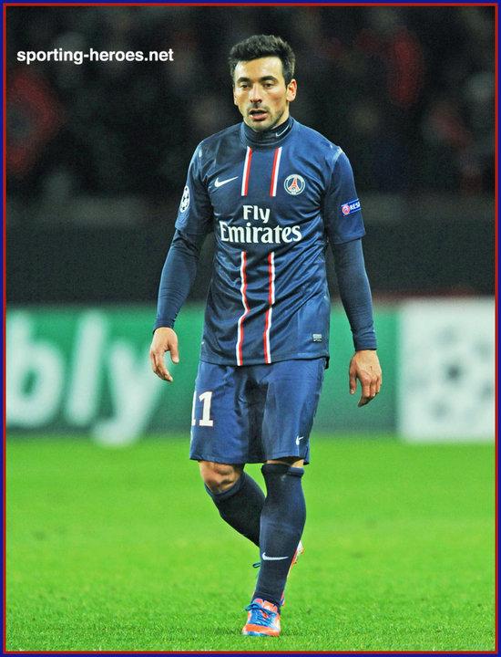 Ezequiel lavezzi champions league 2012 13 paris saint germain click on image to enlarge voltagebd Gallery