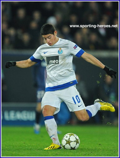 James RODRIGUEZ - Porto - Champions League 2012/2013.