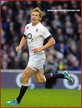 Billy TWELVETREES - England - International Rugby Union Caps for England.
