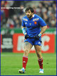 Yannick FORESTIER - France - International rugby matches for France.