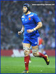 Christophe SAMSON - France - International rugby matches for France.