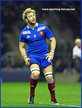 Antonie CLAASSEN - France - French International Matches.