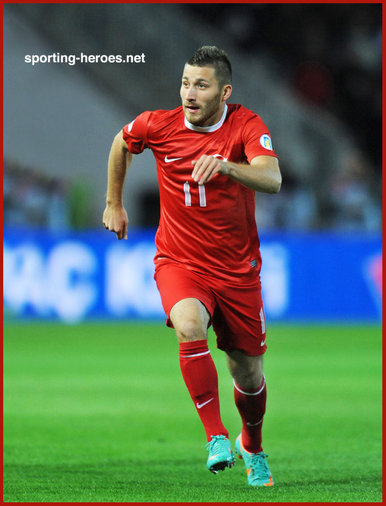 Tunay TORUN - Turkey - 2014 World Cup Qualifying Matches.