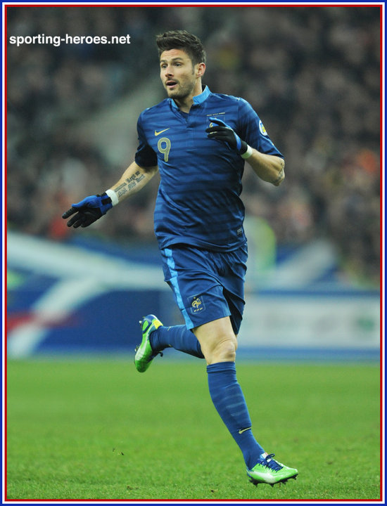 Olivier Giroud 2014 World Cup Qualifying Matches Fifa Copa Del Mundo France