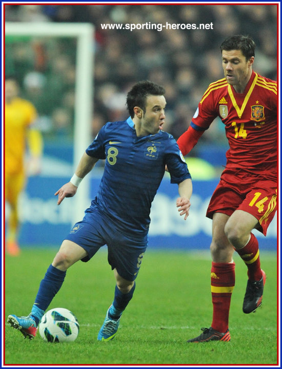 how tall is mathieu valbuena