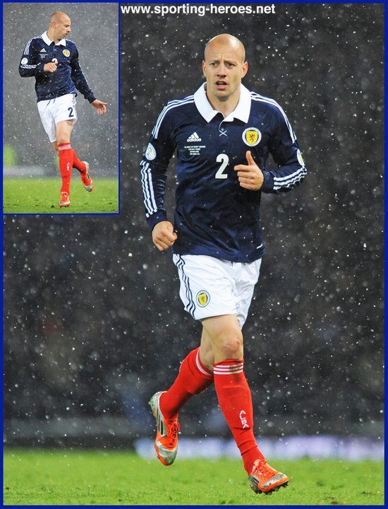 Alan Hutton Scotland Fifa  World Cup Qualifying Matches