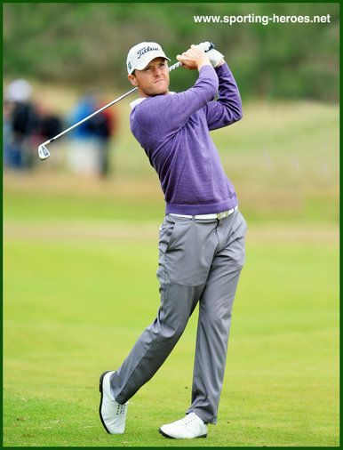 Michael  HOEY - Northern Ireland - European PGA Tour win 2012.