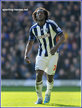 Romelu LUKAKU - West Bromwich Albion FC - Premiership appearances 2012/13 (on loan)
