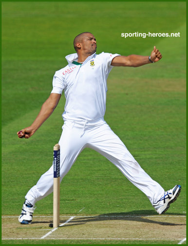 Vernon PHILANDER - South Africa - Test cricket matches for South Africa.